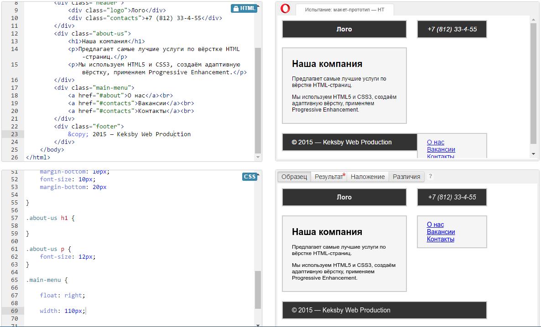 Html - Подключения таблицы стилей для одного блока CSS - Stack